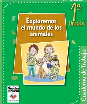cuaderno de trabajo exploremos animales