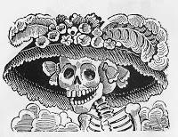 musica dia de muertos catrina