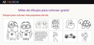buscador de dibujos para colorear
