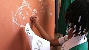 classroom paint