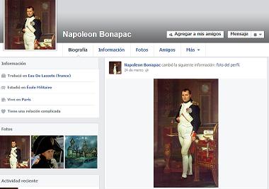 facebook historico
