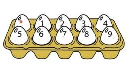 Huevos juegos de sumas caja