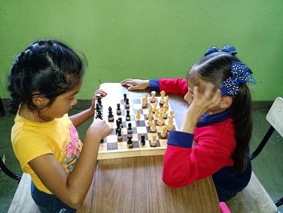 Ajedrez niños enseñanza