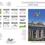 calendario escolar 2015-2016 SEP México