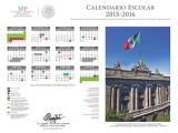 calendario escolar 2015-2016 SEP México