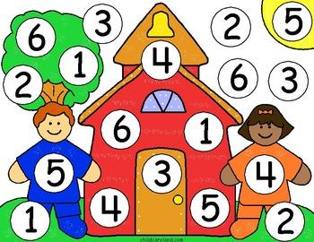 Tapete de números