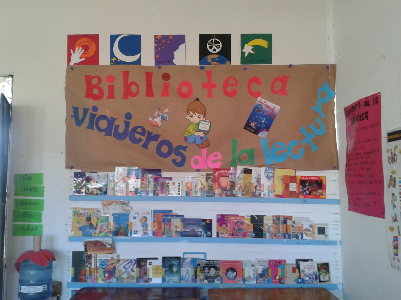 Biblioteca Escuela nicolas Bravo