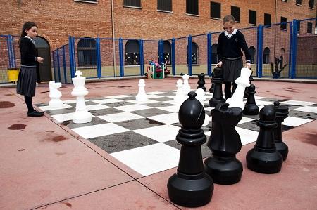 ajedrez patio