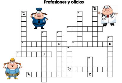 Ejercicios profesiones y oficios diario educaci n for Jardinero en ingles