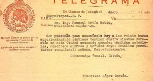 telegrama literario