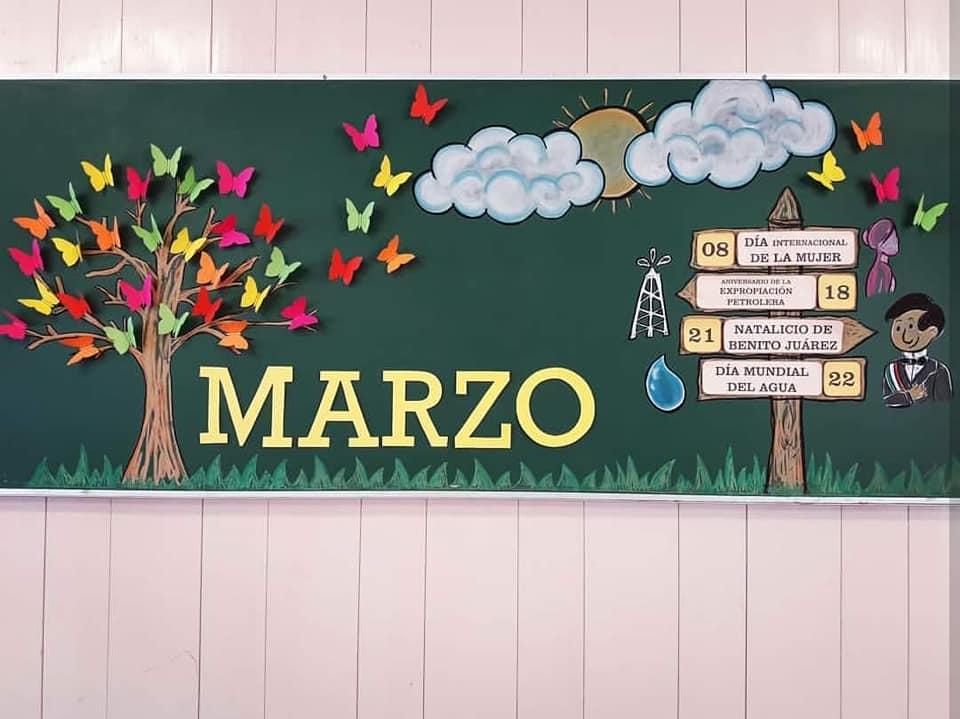 Periodicos Murales Escolares Creativos De Febrero
