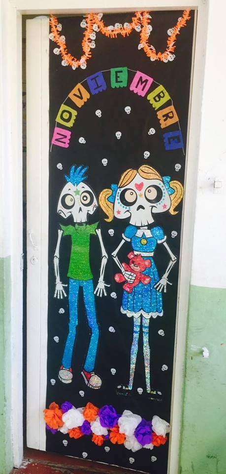 Puertas Para El Día De Muertos Diario Educación