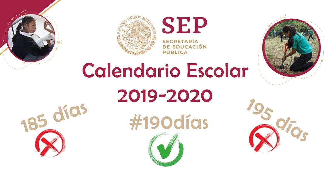 Calendario Escolar 2020 Sep Oficial.Calendario Escolar 2019 2020 Sep Diario Educacion